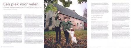 Een plek voor velen, artikel in Noorderbreedte november/december 2007