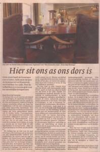 Recensie van 'Kom vul de glazen' in NRC-Handelsblad, 27 juni 2003