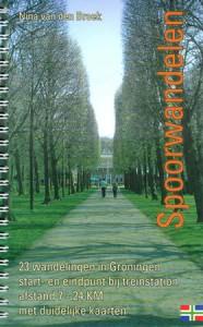 Spoorwandelen, 23 wandelingen in Groningen