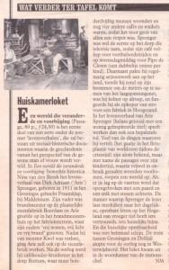 Recensie van 'Een wereld die veranderde en voorbijging' in Vrij Nederland van 11 april 1998